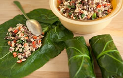 Radiant Recipe: Healthy Green Wraps