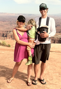 Our family at the Canyonlands