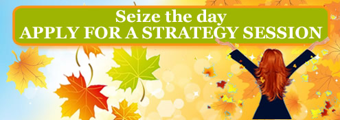 Seize the day - apply for a strategy session